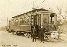 Street car No. 1, Hillside to Douglas route