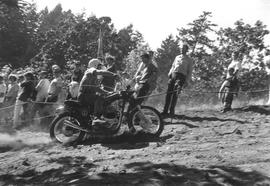 Motorcycle race at Mt. Douglas