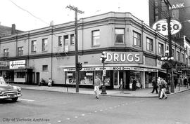 705-707 Pandora Avenue. McCall Drugs