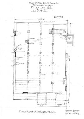 Plan of house for A.A. Taylor Esq., Richmond Ave. & Layton [i.e. Leighton] Rd., plan no. 82