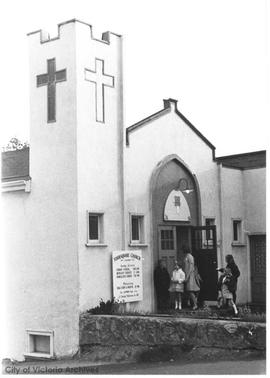 Foursquare Gospel Church, Esquimalt Road : Rev. J.W. Ray and wife
