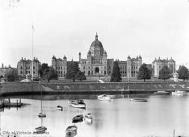 Parliament Buildings from the harbour