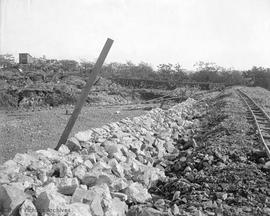 Construction of the Smith Hill Reservoir, Oct 17, 1908