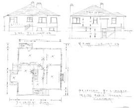 Proposed residence for Mr. & Mrs. Robert Hogan, Victoria