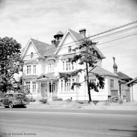 "Mrs. Amy Lawrie family home at 615 Esquimalt Road known as ""Beaufort"""