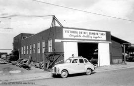 1901 Government Street. Victoria Retail Lumber Yard
