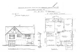 Proposed bungalow to be built on Lot 3, Block 1, South Fairfield, Map 823