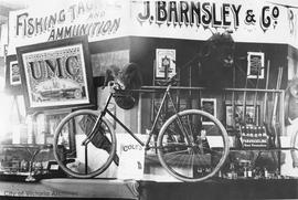Barnsley's Sporting Goods and Gunsmiths (1321 Government Street) for the Agricultural fair at Willows Fairgrounds display