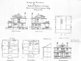 Design for residence for Dunford & Matthews Contractors, Room 10, Can. B'k. of Commerce Bldg....