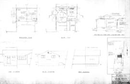 Plan of addition to existing residence