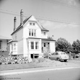 "Alfred D. Fuller family home on Cadboro Bay Road known as ""Oak Bay Villa"""