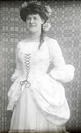 Mary Crocker in costume