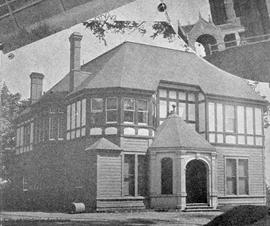 Home of G.H. Burns, S.W. corner of Cook Street and Fairfield Road