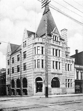 Bank of Montreal N.W. corner of Government Street and Bastion Street