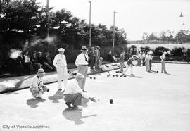 Lawn Bowlers in Beacon Hill Park