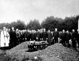 Burial in Ross Bay Cemetery