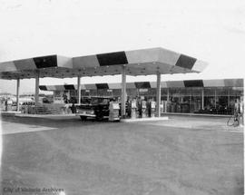 Hillside and Douglas Streets (NE corner). Econo gas station
