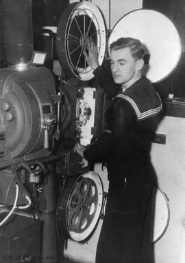 W.E. John and HMCS Naden Cinema
