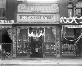 Mansel's Shoe Store, 95 Government Street