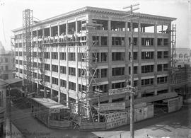 Pemberton Building under construction