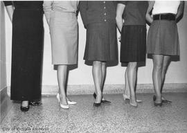 Fashions of 1966 : maxiskirts to miniskirts