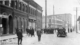 Anti-German riots, Wharf Street