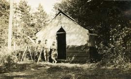 Sooke water supply. Burnside Camp