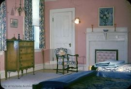 "W.J. Macaulay family home at 950 Terrace Avenue known as ""Highlands"", bedroom"