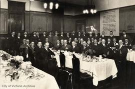Members of the 100% Club (later Capital City Executives Association) at the Empress Hotel