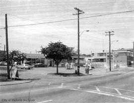 2600 Quadra Street. Shell gas station