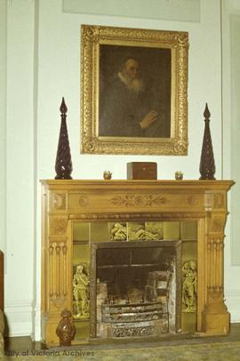1234 Balmoral Road, fireplace