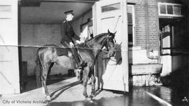 Victoria City mounted policeman