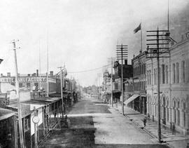 Government Street looking south before View Street was cut through from Broad Street
