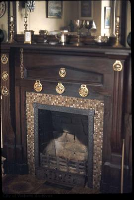 "1024 Munro Street known as ""Viewfield"", fireplace"