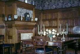 "George H. Barnard family home at 1462 Rockland Avenue known as ""Duvals"", dining room"