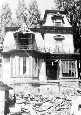Capt. Jacobsen family home and wharf on Head Street, Esquimalt