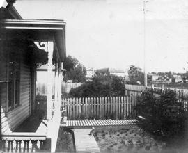View from house rented by Thomas Wilson Palmer, possibly Fernwood area