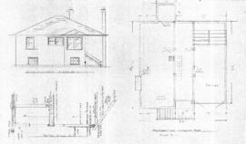 Plan of dwelling to be built for R. Anderson on Lot [blank], Map [blank], Quadra ST., Victoria, B.C.
