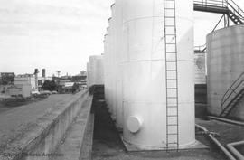Mary Street. British America Oil Company (BAPCo) tank farm