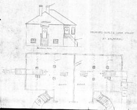 Proposed duplex, Cook Street at Balmoral
