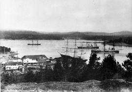 Esquimalt town from Signal Hill
