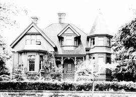 John Raymond family home at 419 Belleville Street