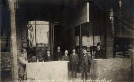 Front of Lombard's Music Store, also Hibben's, 71 Government Street