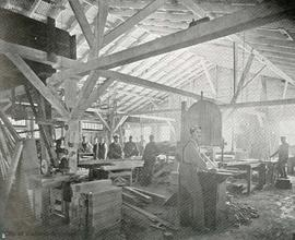 Woodworkers Ltd. Sash and Door Factory, 2843 Douglas Street, interior