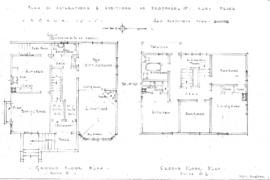 Plan of alterations & additions as proposed, No. 7 Alma Place