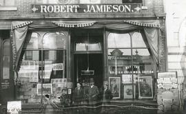 Robert Jamieson book and stationery store, 92 Government Street
