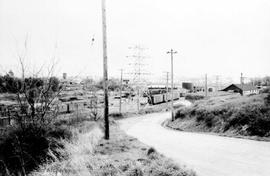 Tyee Road. C.N. Rail yards