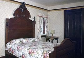 "Kenneth McKenzie family home on the Old Island Highway known as ""Craigflower"", bedroom"