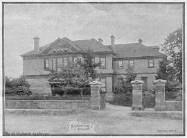 """Burdette House"" (originally ""Eastdon""), 957 Burdett Avenue. Walter Finch Pag..."