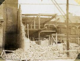 Demolition of the Market Building, Cormorant Street